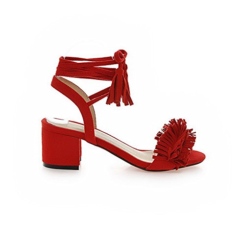 Inconnu 1TO9, Bout Ouvert Femme Red