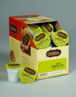 DECAF GREEN TEA --- by Celestial Seasonings --- 1 box of 24 K-Cups