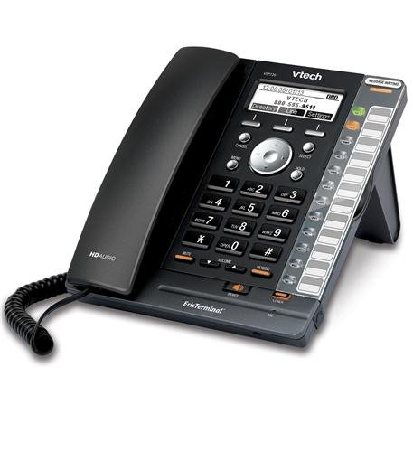 VTech ErisTerminal VSP726 IP Phone - Wireless - DECT 6.0 - Desktop (Dect Mobility)
