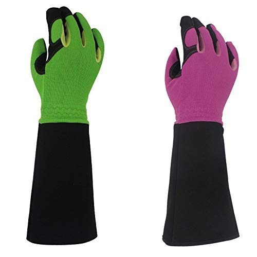 ACAO Rose Pruning Gloves for Men & Women, Long Thorn Proof Gardening Gloves, Best Garden Gifts & Tools for Gardener (Color : E, Size : S) by ACAO-Glove (Image #7)