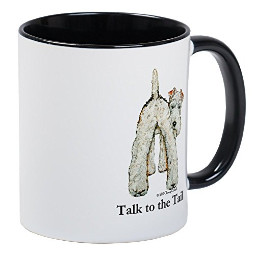 CafePress Wire Fox Terrier Tail WFT Mug Unique Coffee Mug, Coffee Cup