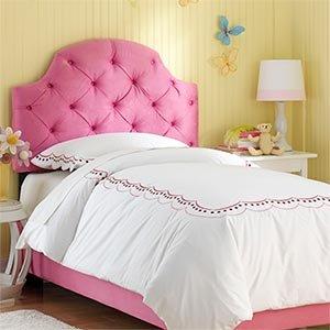 hot pink tufted full bed upholstered headboard and frame padded headboard full. Black Bedroom Furniture Sets. Home Design Ideas