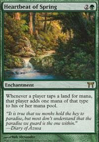 Magic: the Gathering - Heartbeat of Spring - Champions of Kamigawa