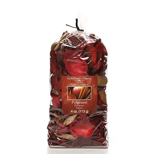 Hosley Apple Cinnamon Potpourri, 4 oz. Ideal GIFT for Weddings, Party Favor, for Dried Floral Arrangements in Spa, Reiki, Meditation, Bathroom Settings O3