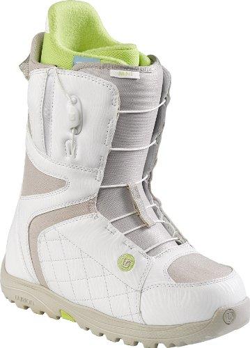 Burton Boots 10627101113 Damen, white/tan,