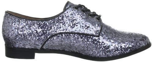 Buffalo London Halbschuhe Glitter Grau (PEWTER 01)