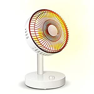 LIIYANN Portable Fan Heaters, Stepless Temperature Control Heater, Mobile Electric Heater, Anti-Tipping And Overheating…