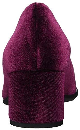 05vl con Rapisardi e Zapatos Velvet Wine Cerrada tacón F900 Rojo NR para de Mujer W Wine Velvet Punta SwXZxURq