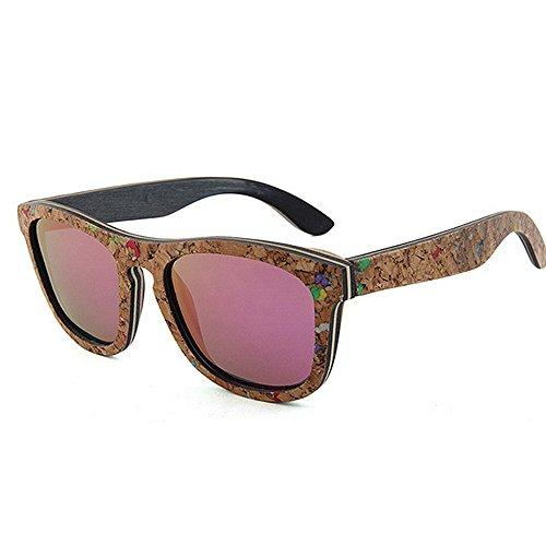 conducción a sol sol alta de sol calidad Adult blandas de mano Personalidad la de UV madera mujer sol Gafas de Gafas Eyewear polarizadas de de hechas playa Gafas de sol Protección Gafas de de Gafas de xaOaqw0BA