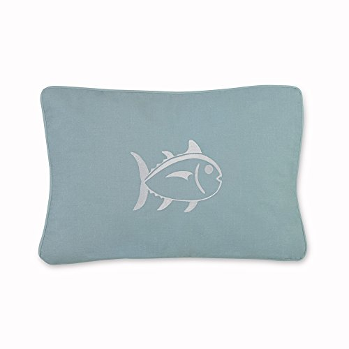 Southern Tide Home Tropical Retreat Decorative Pillow 12 x 18 Turquoise (Retreat Tropical)