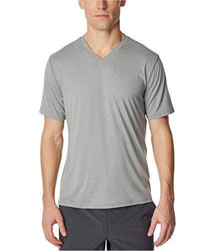 32 DEGREES Mens Large V Neck Short Sleeve T-Shirt $25 Gray L