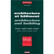 DICT ARCHITECTURE ET BATIMENT