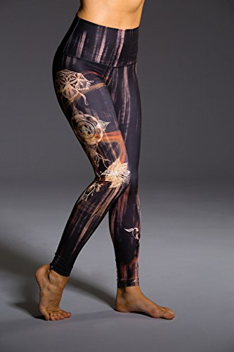 Onzie High Rise Graphic Legging Henna-XS
