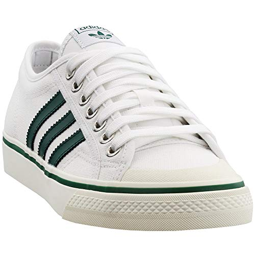 (adidas Mens Nizza Casual Shoes White 10 )