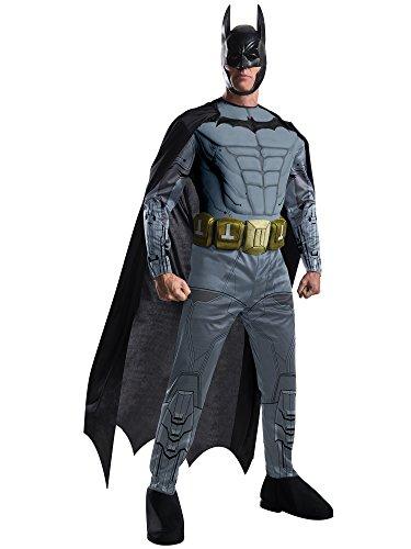 Rubie's Men's Batman Arkham City Deluxe Muscle Chest Batman, Multicolor, Medium ()