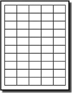 upc ean barcode labels 1 5 x 1 labels 50 labels per sheet 100 sheets white. Black Bedroom Furniture Sets. Home Design Ideas