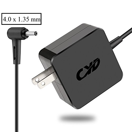 CYD 65W 45W PowerFast Charger for Asus K553MA Q302LA Q503UA X553M VivoBook E402SA E403SA K200MA Q200E S200; Zenbook UX303LB UX305CA Prime UX301 UX302LA AC Adapter Laptop Charger Power Extra 8.2Ft Cord