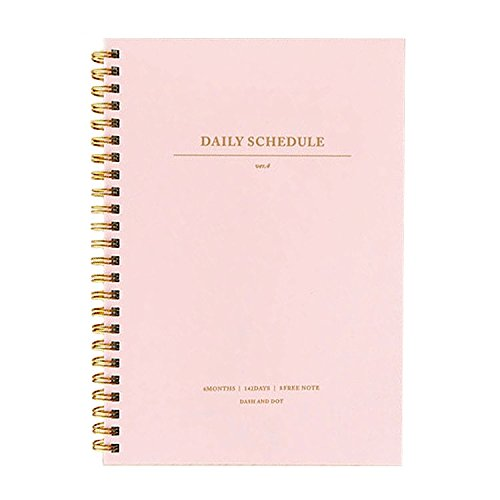 Amazon.com : Daily Schedule Undated Planner Daily ...