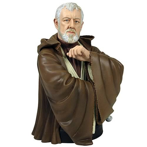 Star Wars Obi-Wan Kenobi A New Hope Mini Bust by Gentle Giant
