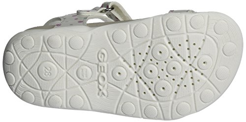 Aloha Cuña B Con Sandalias Sandal Geox whitec1000 Jr Niñas Para Blanco twqCxYEOE