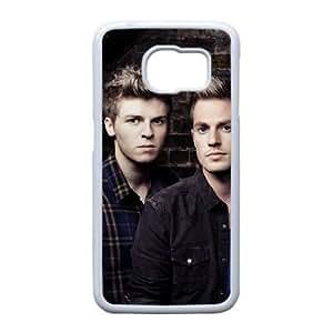 F0D15 Lawson W8C5XV funda Samsung Galaxy S6 funda caja del teléfono celular cubren WY9YAO4VM blanco