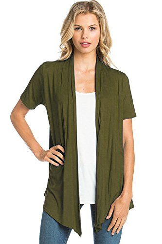 Expert choice for green cardigan women short sleeve