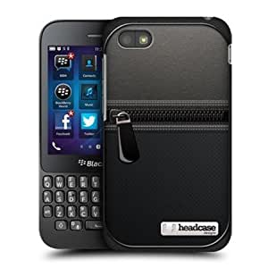 Cerhinu Head Case Designs Leather Pouch Protective Back Case Cover For Blackberry Q5