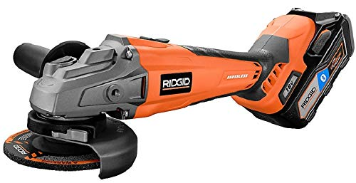 RIDGID R86041SB 18V GEN5X Cordless Brushless 4-1/2-Inch Angle Grinder Kit w/ 6Ah Battery