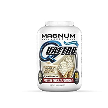 amazon com magnum nutraceuticals quattro 4 5lbs vanilla ice cream