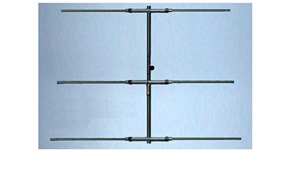Antena yagi 6 Elementos Banda 6 m 50 MHz, Boom 5,9 m 12 dB