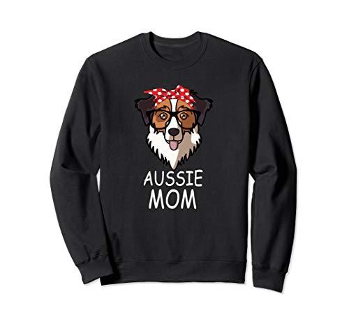 Australian Shepherd Funny Aussie Dog Mom Sunglasses Bandana -