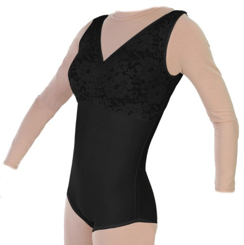 Surgical Brief Body Shaper Without Zippers Compression Garment | ContourMD : Style 32NZ (Medium, Black)
