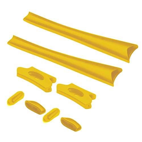 1 Set of Earsocks & Nosepieces Rubber Kits for Oakley Flak Jacket XLJ Sunglass - Yellow