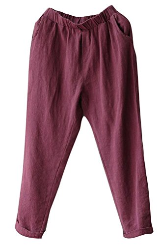Rouge Lazutom Vin Lazutom Femme Femme Pantalon Femme Rouge Pantalon Pantalon Lazutom Vin Vin Rouge A4aa7n1W