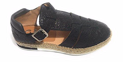 KANNA - Sandalias de vestir de Piel para mujer negro negro EUR 36