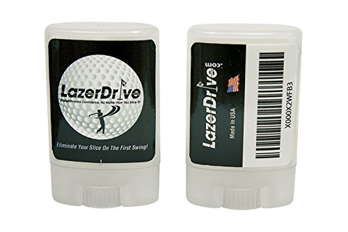LazerDrive.com Golf Anti Slice Golf Club Aid eliminates Your Slice or Hook and Helps You Drive Your Ball - Anti Slice