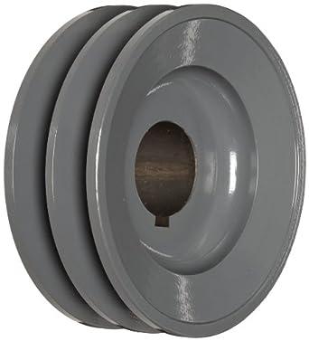 """TB Woods 2BK50138 FHP Bored-To-Size, 4.75"""" Outside Body Diameter, 1.375"""" Bore Diameter V-Belt Sheave"""