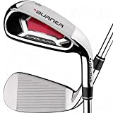 TaylorMade Burner Plus Irons 4-AW (Right Hand, Steel, Stiff)