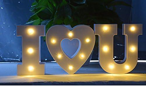 Sakuru アルファベット ライト 照明 インテリア パーティー装飾に ABS製 ウエディング 母の日 誕生日 子供部屋 リビング インテリア雑貨 DIY (X)