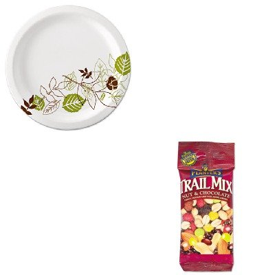 KITDXEUX9WSPKPTN00027 - Value Kit - Planters Trail Mix (PTN00027) and Dixie Pathways Mediumweight Paper Plates (DXEUX9WSPK) by Planters