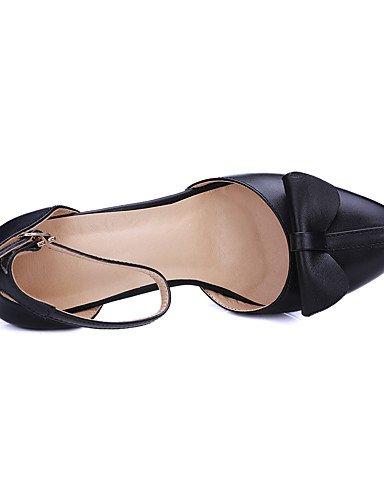 GGX/Damen Schuhe Rindsleder/Leder Chunky Stiefel/Gladiator/Komfort/Combat Stiefel/NEUHEIT/Styles/spitz Zehen/ black-us5.5 / eu36 / uk3.5 / cn35