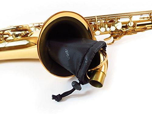 Fusion Premium Series (FB-PW-02-B) - Tenor Saxophone Gig Bag, Black/Blue by Fusion (Image #6)