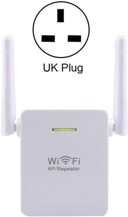 DaMuZ Repetidor Extensor de Red WiFi 300Mbps Puerto LAN, 2 ...