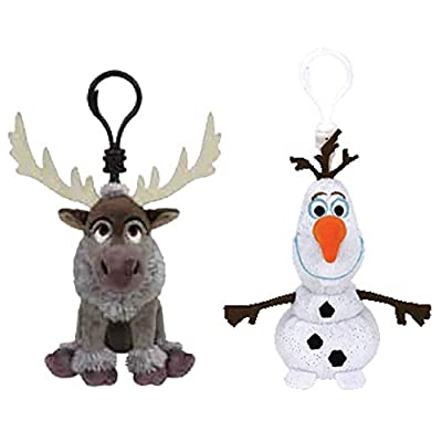 TY Frozen II Clip Set - Sven & Olaf: Toys & Games