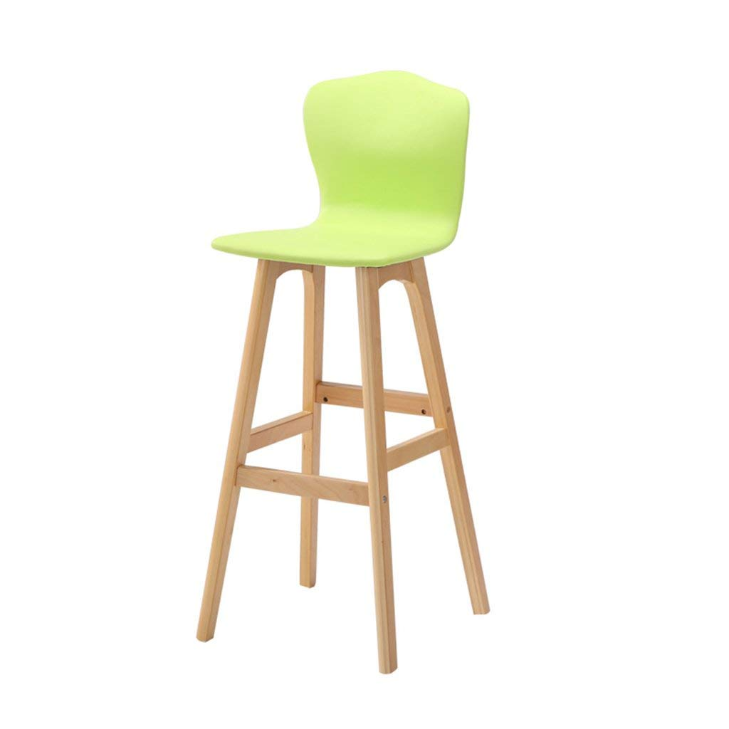 B JZX Chairs Stools, High Solid Wood Back Bar Chair,High End Atmosphere Chair Stool