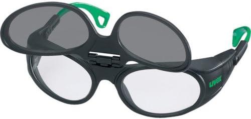 UVEX社 UVEX 二眼型遮光メガネ ウベックス 9104 遮光度#1.7 9104041