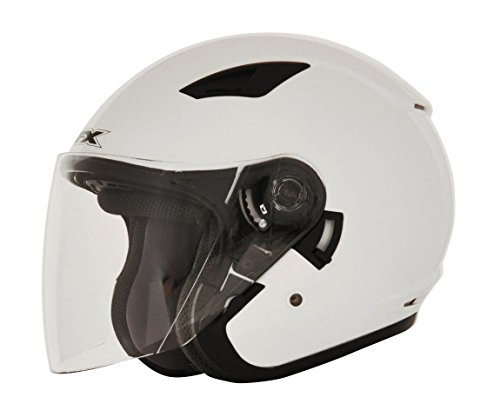 - AFX FX-46 Solid Helmet (Pearl White, XX-Large) 01041872