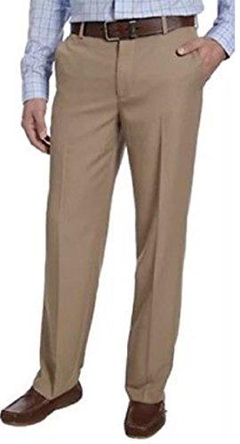 IZOD Performance Stretch Dress Pant (Khaki,36x34) from IZOD