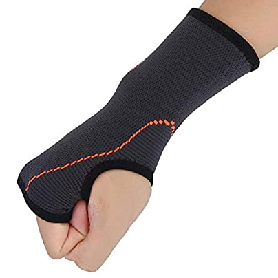 Nylon Wrist Support Unisex Gym Fitness Wrist Sleeve Outdoor Sports Basketball Tennis Hand Guard Wrist Protector Wrist Band Estimated Price £8.39 -