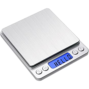 digital kitchen pocket scale toprime 500g 001g high precision portable food jewelry gram drug